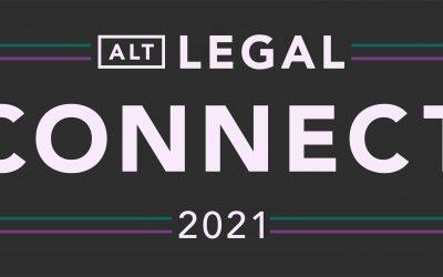 Alt Legal Connect 2021 to bring together hundreds of trademark professionals September 13-15, 2021